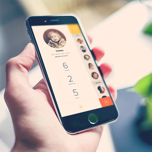 Age Log Mobile App Design & Development