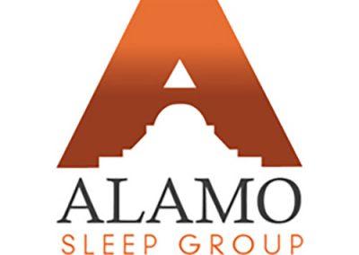 Alamo Sleep Group Logo Design
