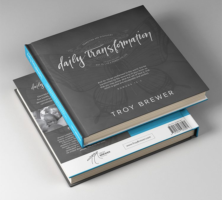 Book Design (428 Pages) for Pastor Troy Brewer, Burleson Texas