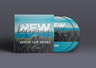 New Beginnings DVD Sleeve